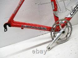 2004 Cannondale R900 54cm Caad 8 Frame with Slice Carbon Fork