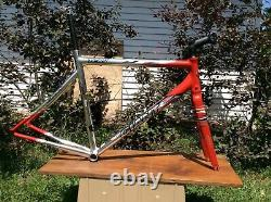 2006 Giant TCR1 aluminum road frame with carbon fork 56cm with Carbon seat post