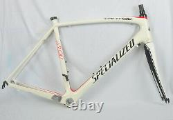 2010 Specialized Tarmac Pro Road Bike 56cm FACT Carbon Frame/ Fork Fact