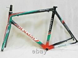 55 cm Colnago Extreme Power Carbon Frame & Fork with Campagnolo Headset 1778 Grams