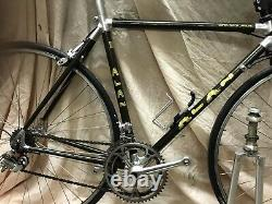 Alan Carbon Road Frame And Fork 50cm Top Tube And Seat Tube Ctc