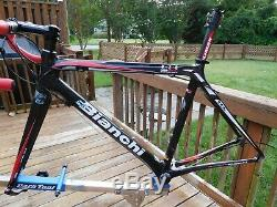 Bianchi 928 Carbon Nano Tech Super Light frame, fork, extras, size 52