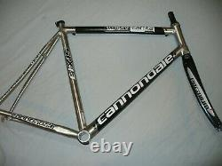 Cannondale Six13 Team Replica Road Frame & Full Carbon Fork 58CM BB30 -Nice
