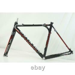Colnago WORLD CUP2.0 2013 Model Cyclocross Frame Set Aluminum Fork Size 52 Used