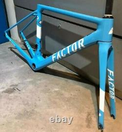 Factor O2 AG2R La Mondiale Carbon Frame and Fork only 49cm (New Other)