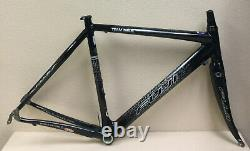 Fuji Europe Team Issue Frame And Fork Carbon 1.7 Kgs. 54 CM Fsa Headset