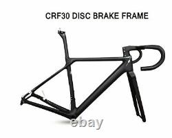 Full Carbon Road Frame Bicycle Bike 12 Colors T1000 Fork Seatpost Headset Clamp