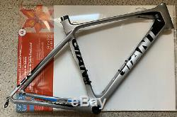 Giant TCR Advanced Carbon Frame Set with Fork & Seatpost And Extras Med 55cm