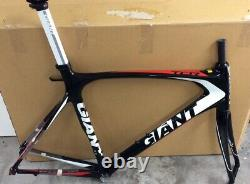 Giant Tcr 1 Carbon Frame, Fork, Seat Post, Headset, Size XL