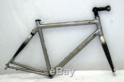 Klein Reve Racing Road Bike Frame 54cm Small Carbon Fork SPA Suspension Charity