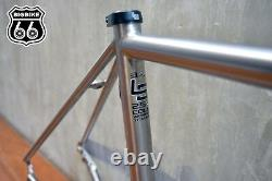Litespeed T3 (Di2 Compatible) Titanium frame + tapered carbon road fork(M)