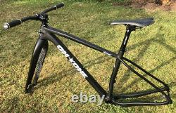 On One Whippet Carbon MTB Frame and Fork & extras. 29 Boost