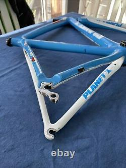 Planet X Guru Carbon Frame & Forks Hope BB & Carbon Seat Post Clamp Included