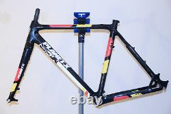 Planet X XLS Pro Carbon Cyclocross Frame and Forks Med (54cm) Black Flanders