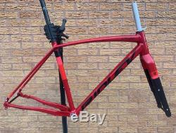 Ridley Kanzo A Alloy Disc Gravel Road 700C 650B Frame Carbon Fork Small PMC