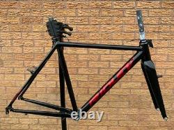 Ridley X-Ride Cyclocross Frameset Alloy Canti Frame Carbon Fork Black/Red 58cm