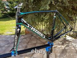 Specialized S-WORKS TARMAC SL5 Carbon frame and fork, BORA, 54cm, Di2, MINT
