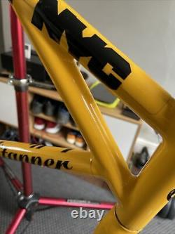 Very Rare Bellitanner Nyc Taxi Urban Fixie Frame 58cm Columbus and carbon fork